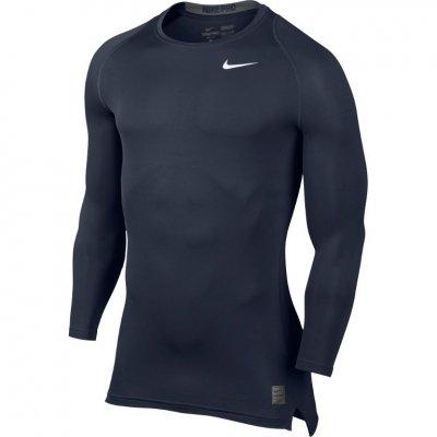 Nike Pro Cool kompressziós hosszú ujjú felső - Navy