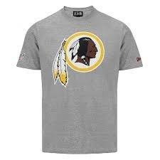 Redskins -Team Logo póló (Szürke)