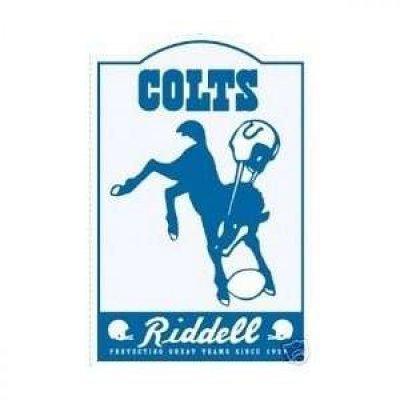 Colts - Retro Fém Falitábla